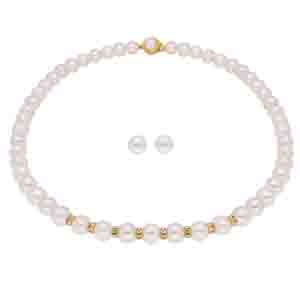 Precious-Simple Pearl Set