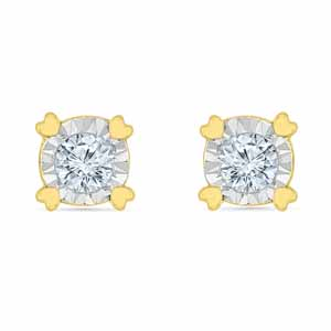 Diamond-Animi Diamond Earrings