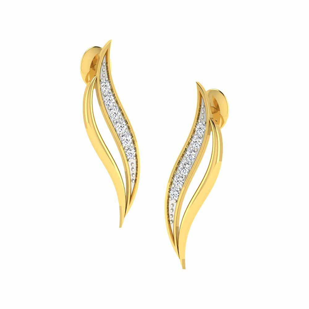 Misha Diamond Earrings