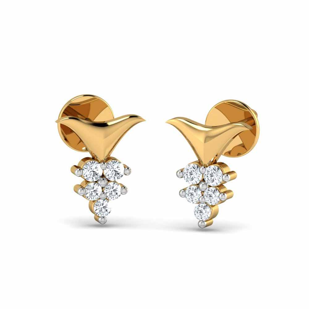 Padma Diamond Earrings