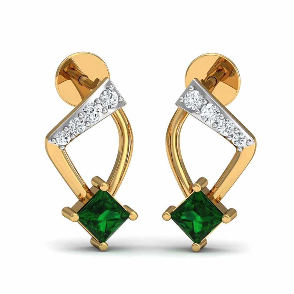 Badrika Diamond Earrings
