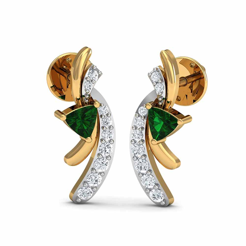 Diamond-Duli Diamond Earrings