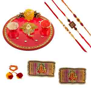 Rakhi Hampers-Traditional Rakhi Gift with Rakhis
