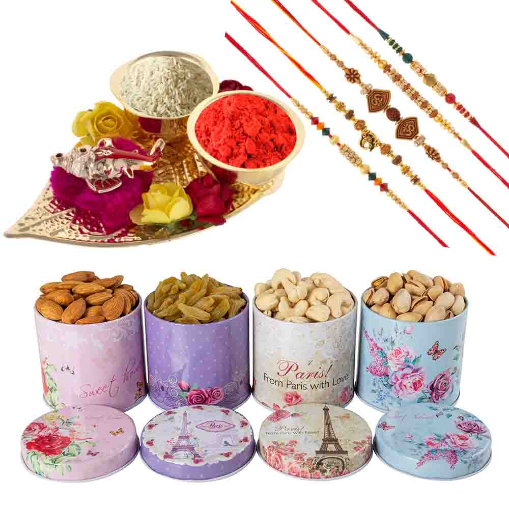 Dryfruits-Dry Fruit Temptation with a Rakhis
