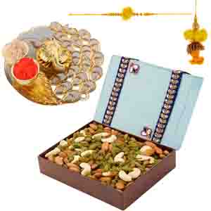 Dryfruits-Dry Fruit Delight with a Rakhis