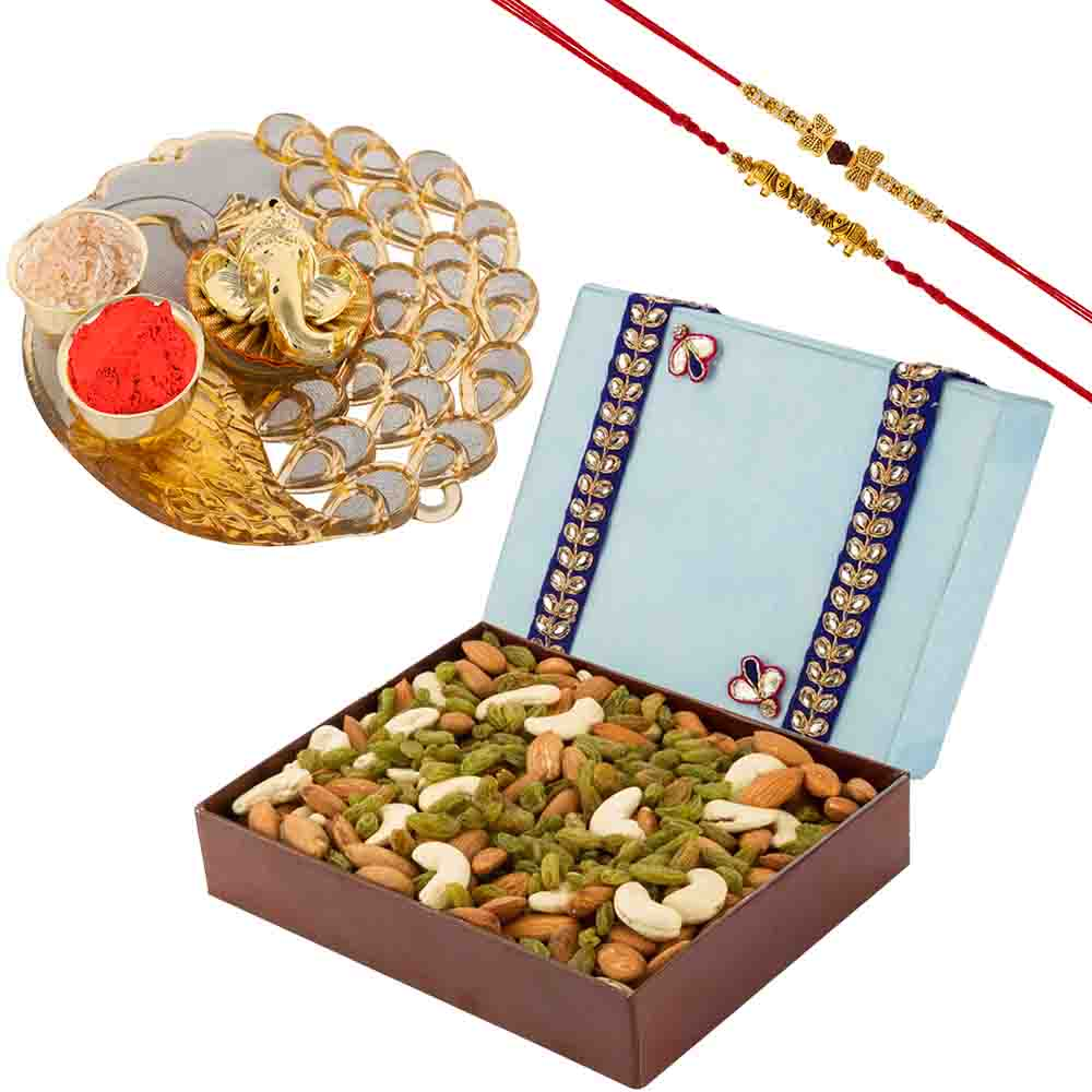 Dry Fruit Delight with a Rakhis