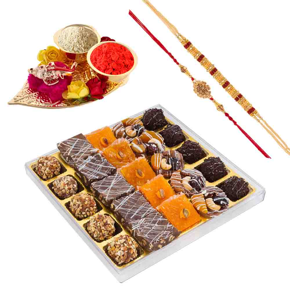Bikanervala Fruity Choco Delight with Designer Rakhis