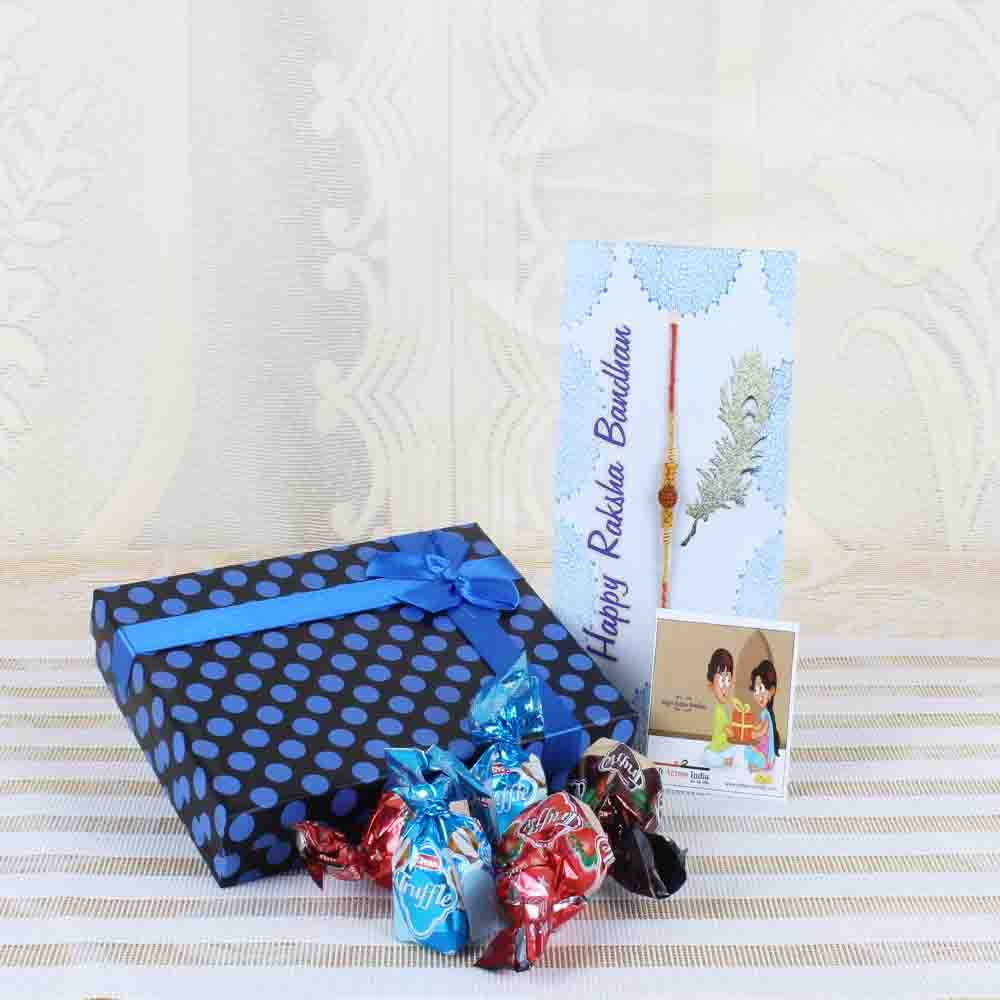 Truffle Chocolate with Charming Rakhi