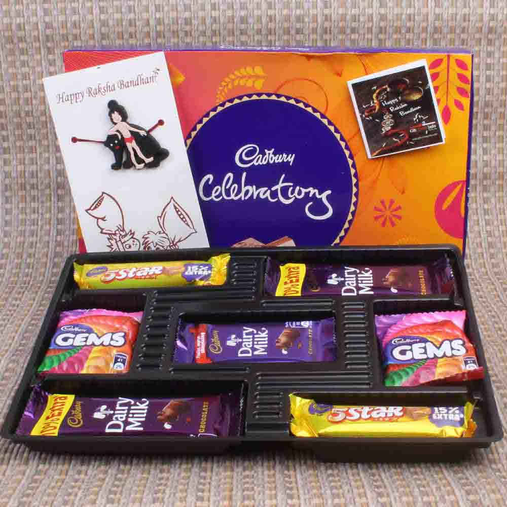 Mowgli Rakhi for Kids with Chocolate Pack