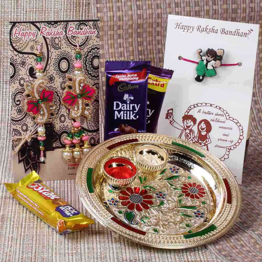 Amazing Rakhi Gift Hamper for Brother