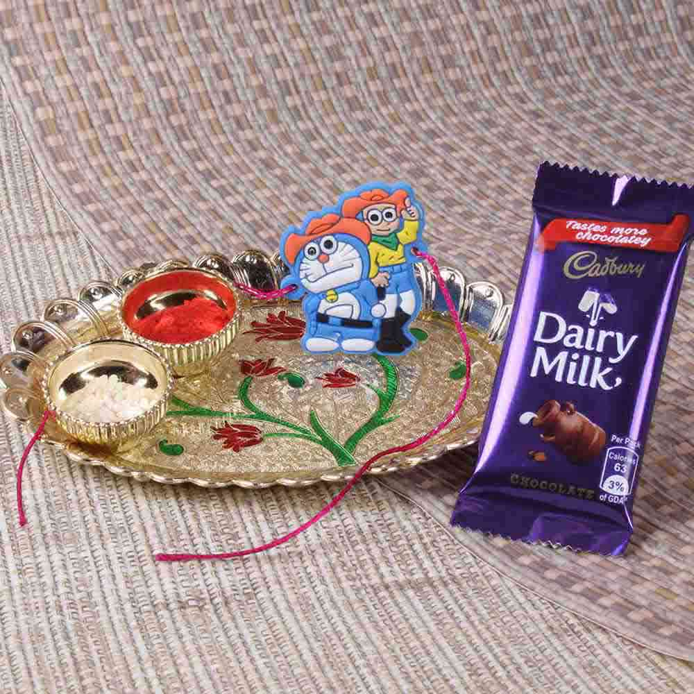 Alluring Rakhi Combo for Bhai