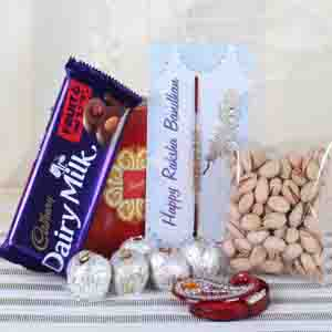 Rakhi Hampers-Special Rakhi Sweet Hamper