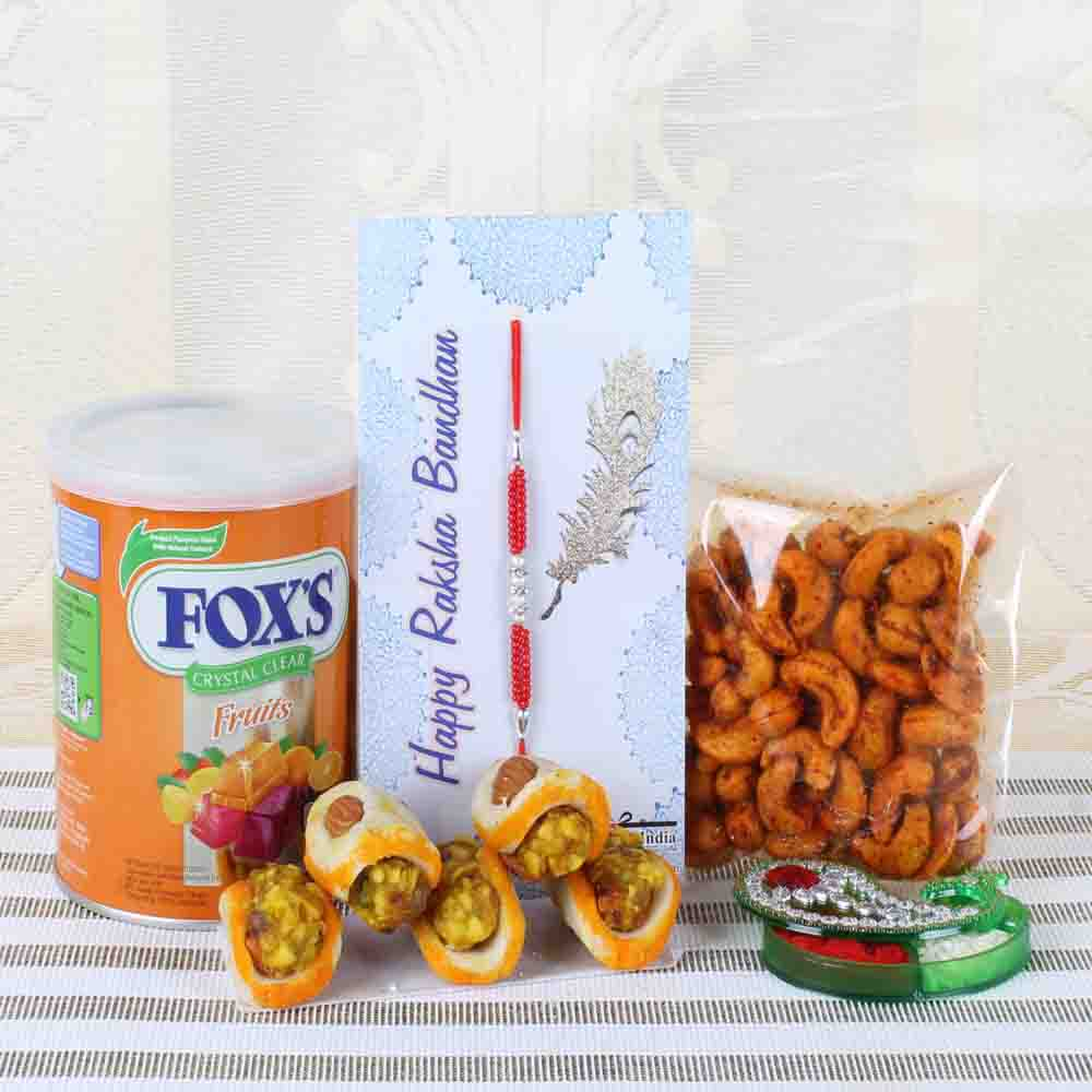 Complete Hamper of Rakhi for Bhai