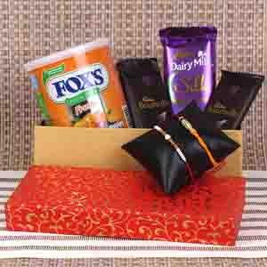 Rakhi Hampers-Yummy Choco Combo for Brother