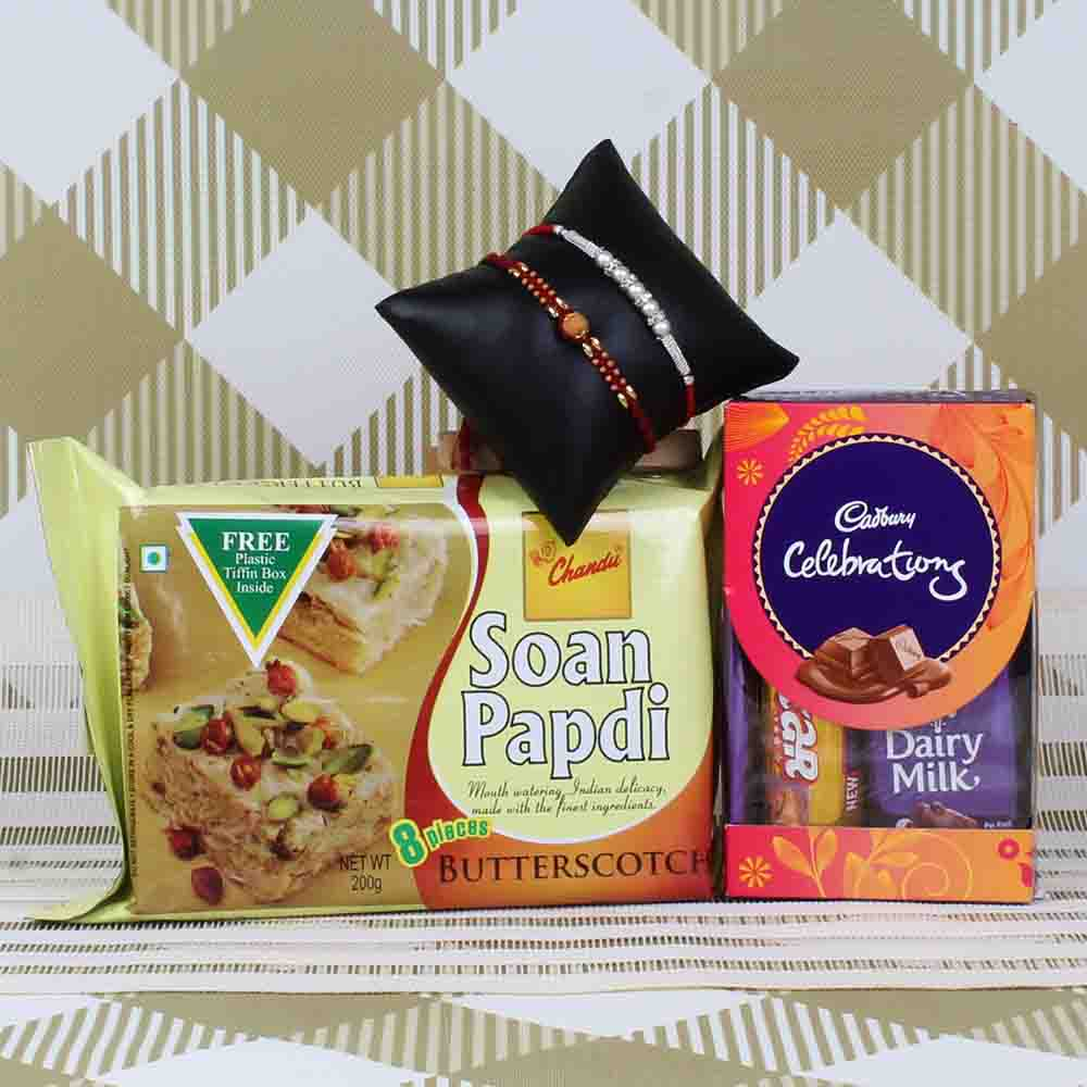 Perfect Rakhi Goodies Box
