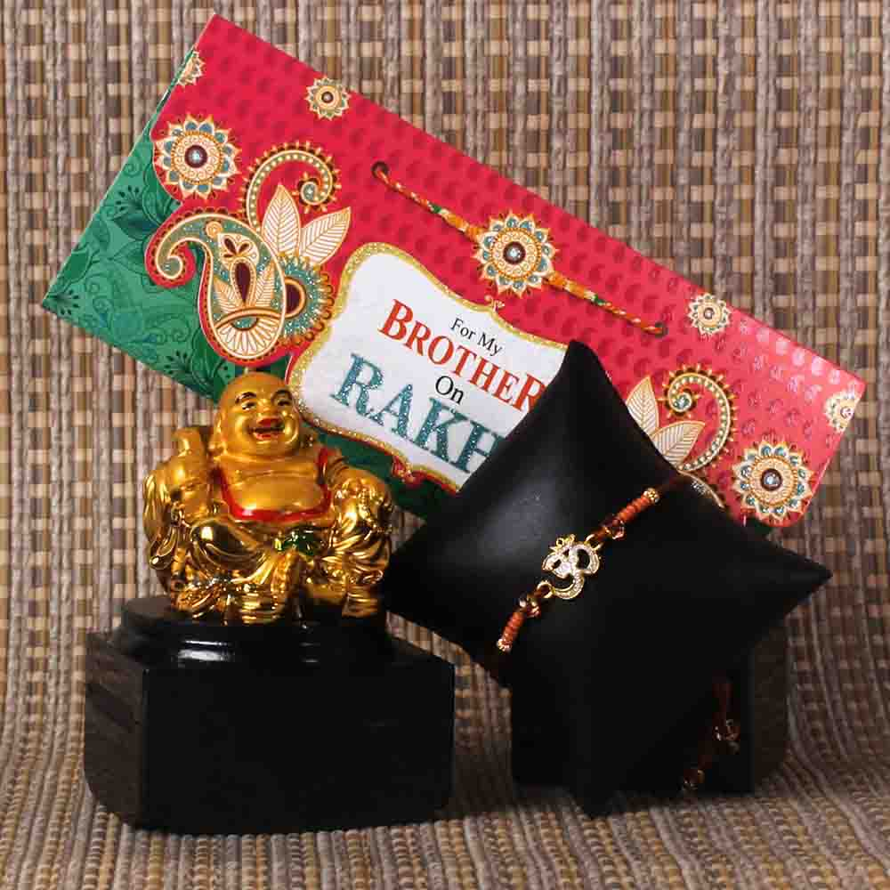 Rakhi Gift of Laughing Buddha