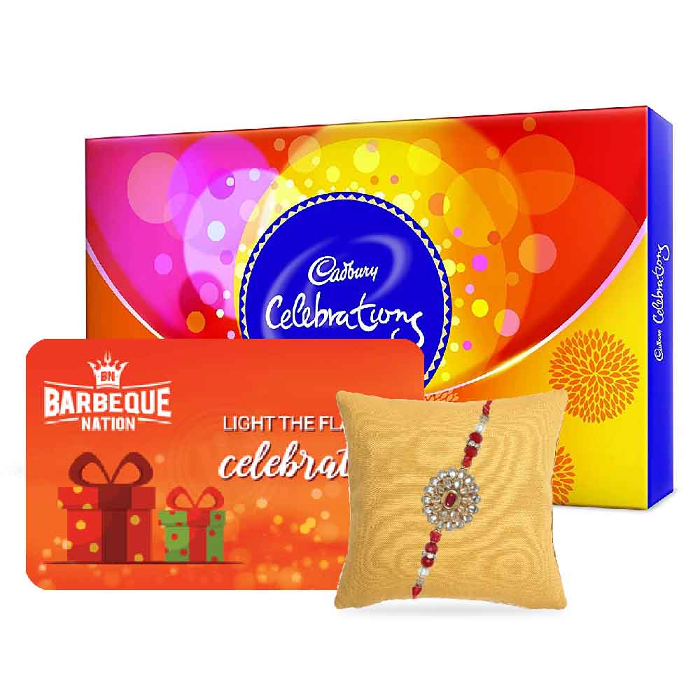 Barbeque Nation Gift Card with Cadbury Celebration