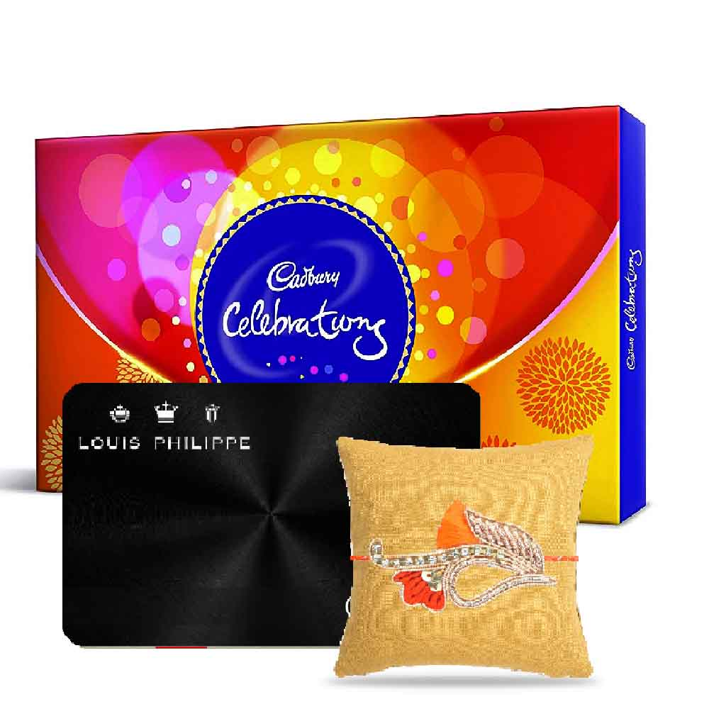 Louis Philippe Gift Card with Cadbury Celebration