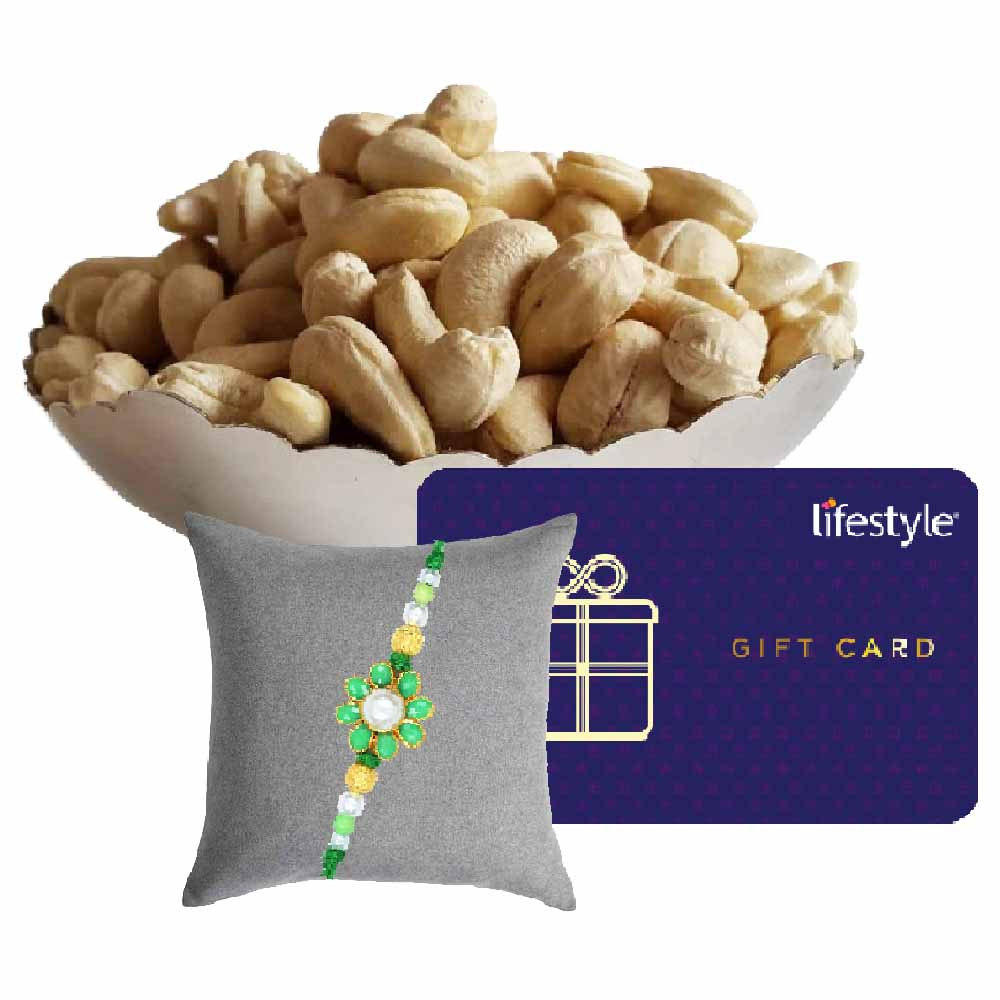 Tajonline Special Hamper-Lifestyle Gift Card with Cashew