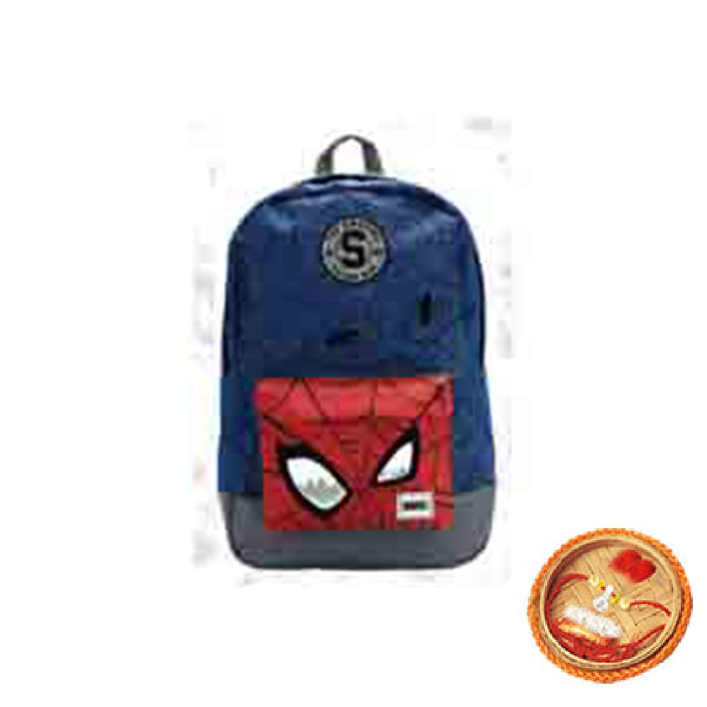 Spiderman Bag With Free Rakhi