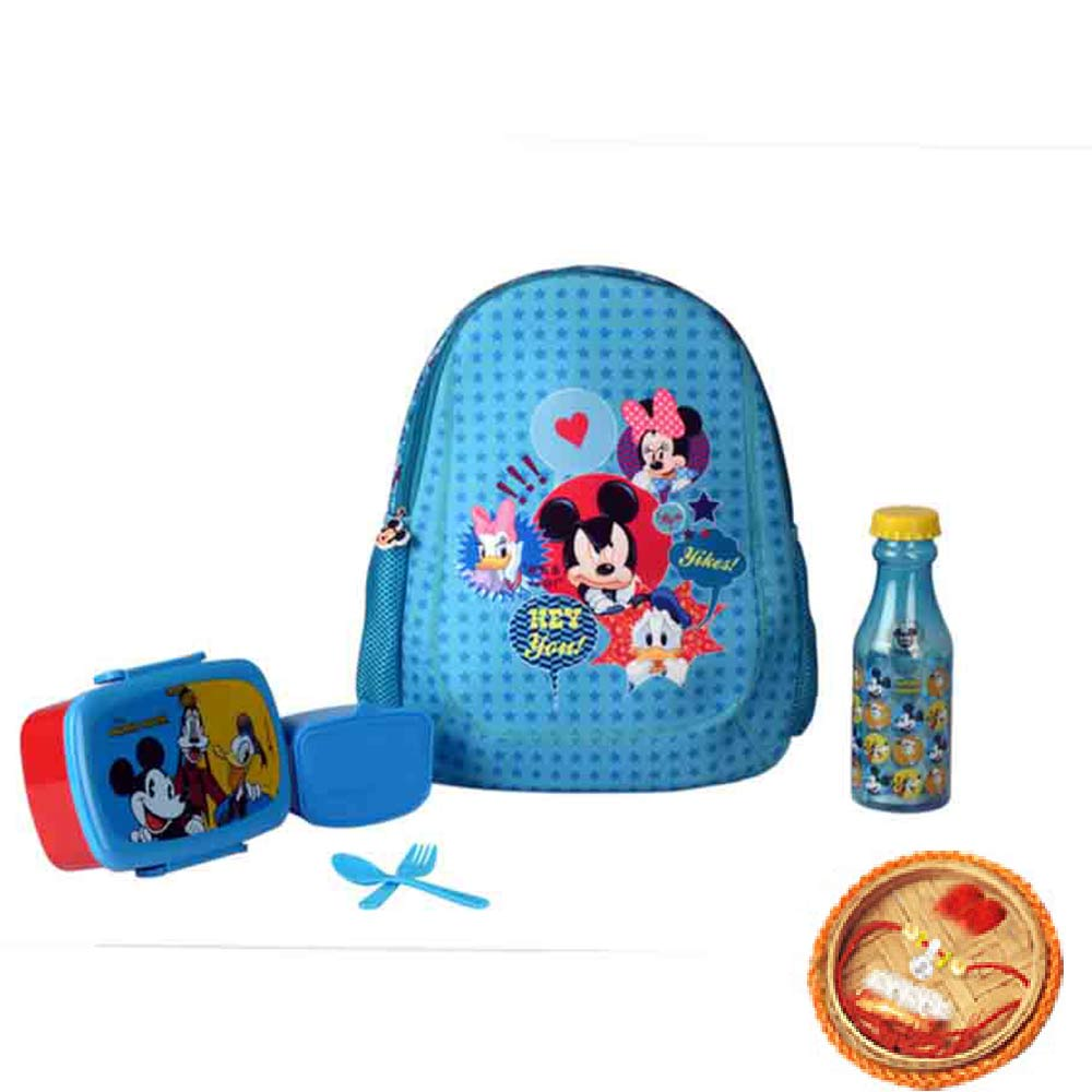 Mickey Mouse Kids BTS Kit With Free Rakhi