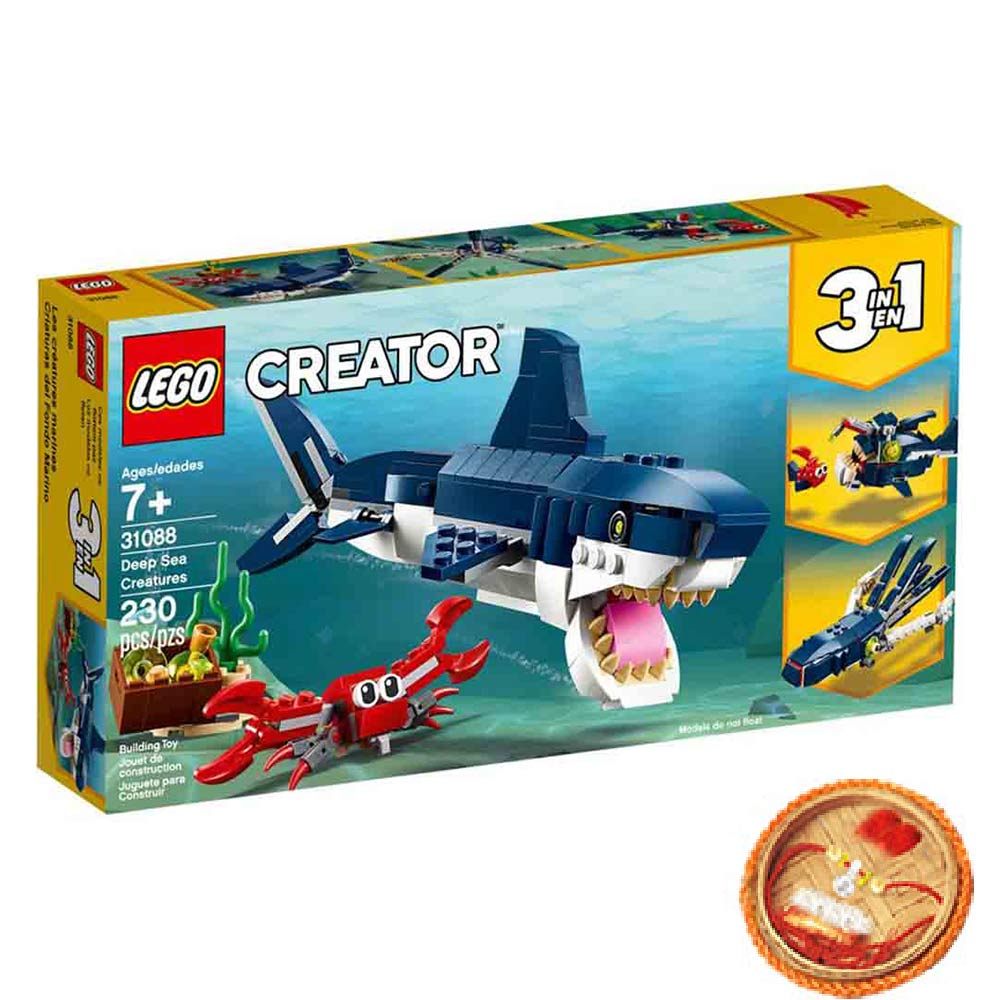 Lego Creator Deep Sea Creatures With Free Rakhi