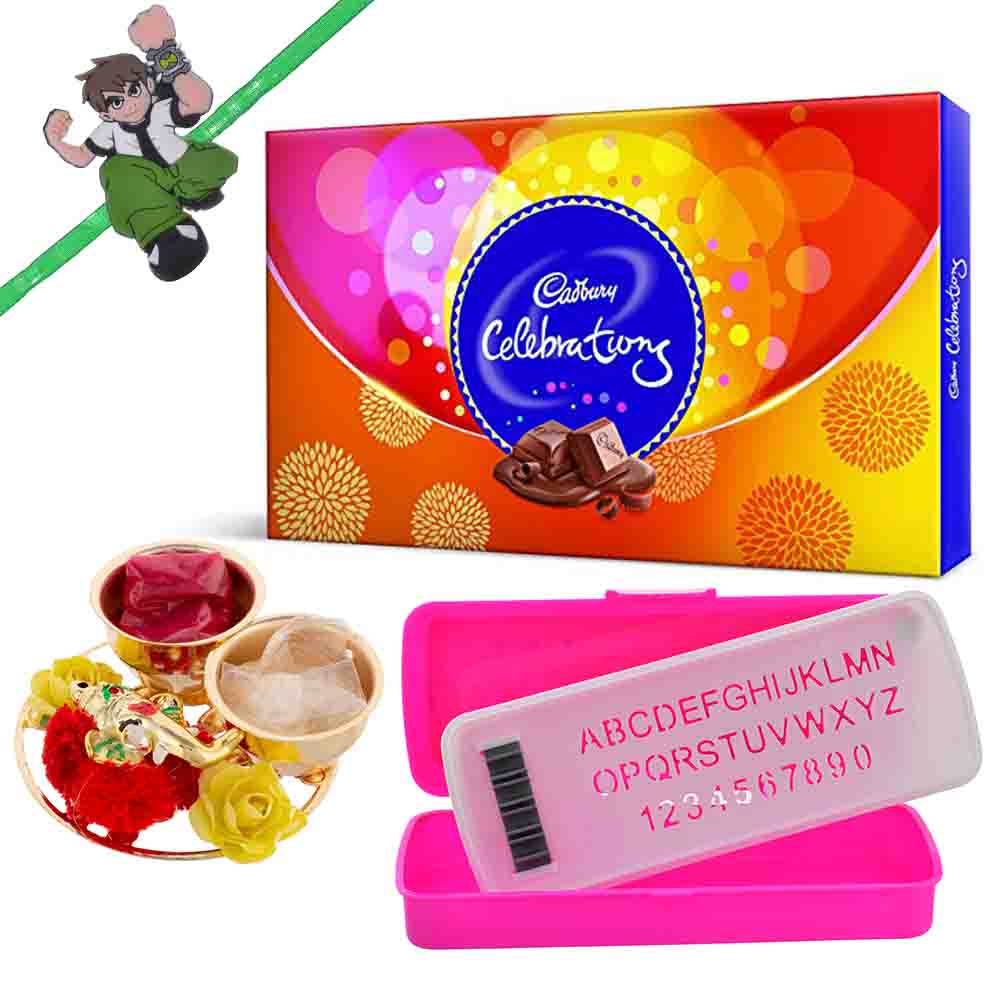 Cadbury Celebrations with Pencil box