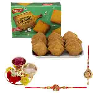 Chocolates & Cookies-Bikanervala Premium Coconut Cookies