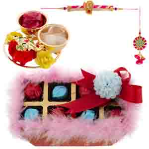 Chocolates & Cookies-Bikanervala Choco Fur Box