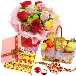 Cakes & Flowers-A Lovely Gift from Sister