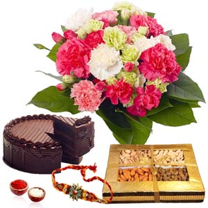 Floral Hampers-Rakhi Hamper for Brother
