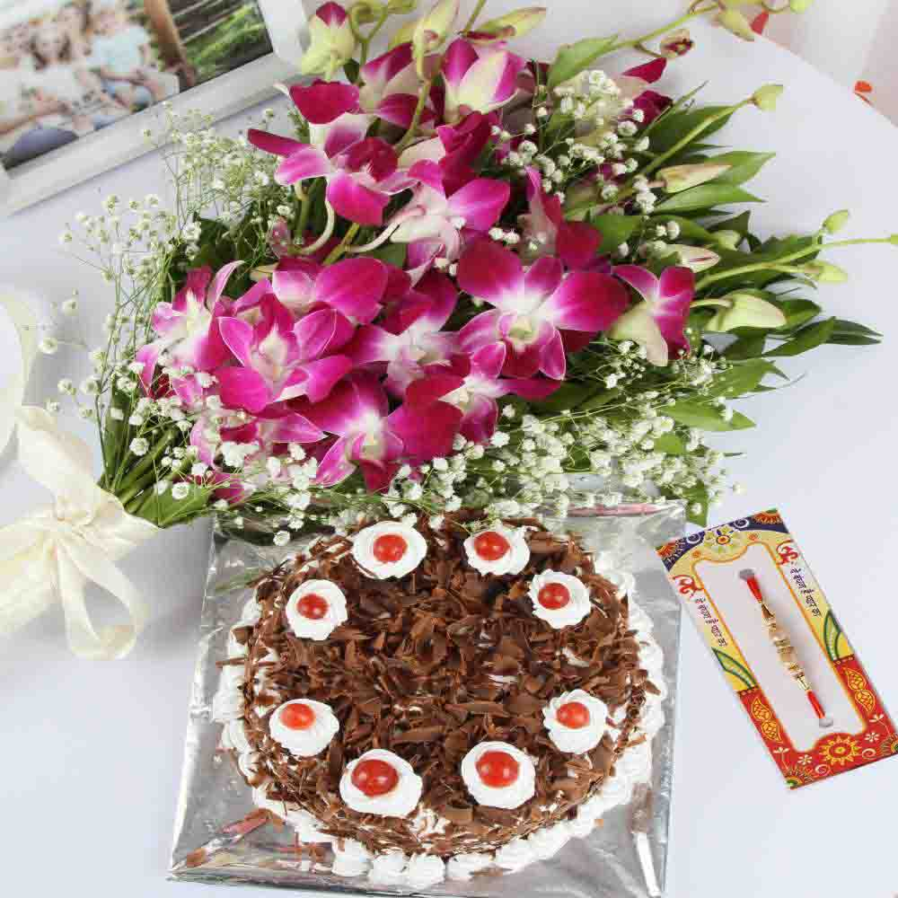 Delightful Rakhi Hamper for Brother