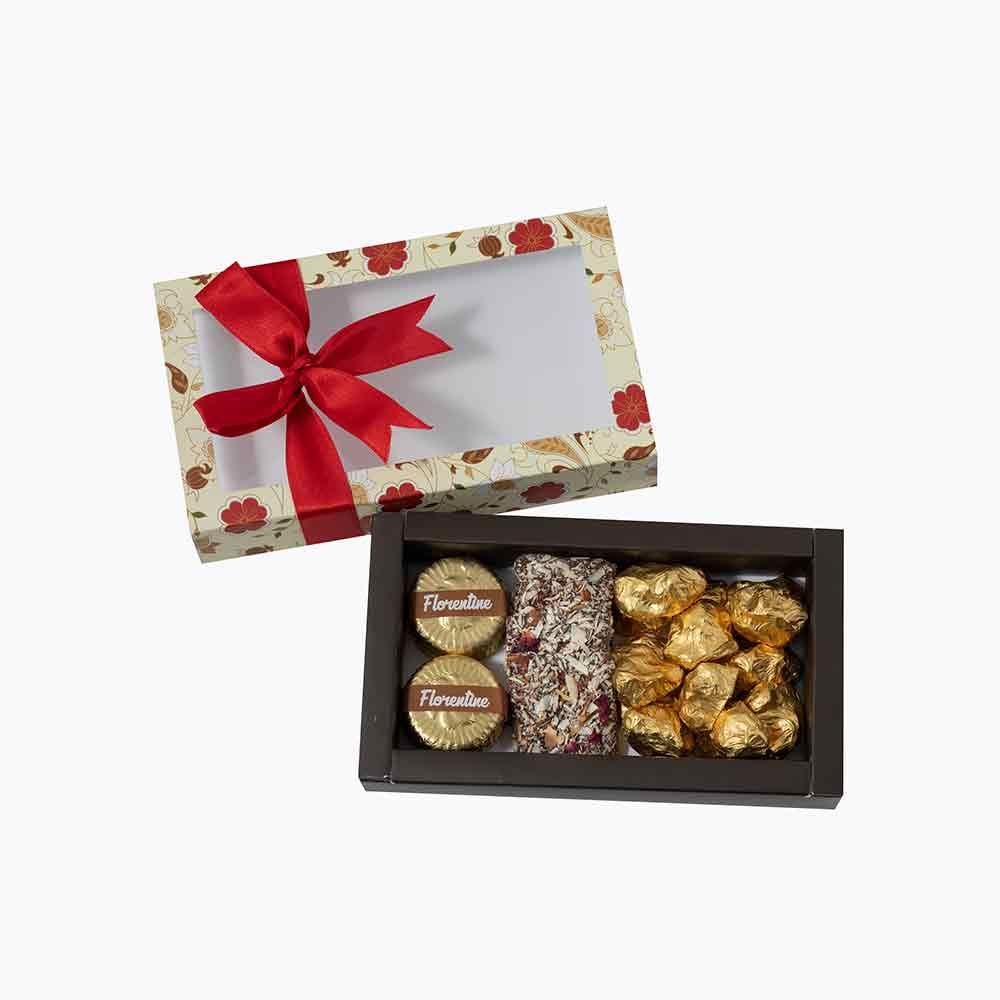 Velvet Fine Chocolates Delicious Floral Box