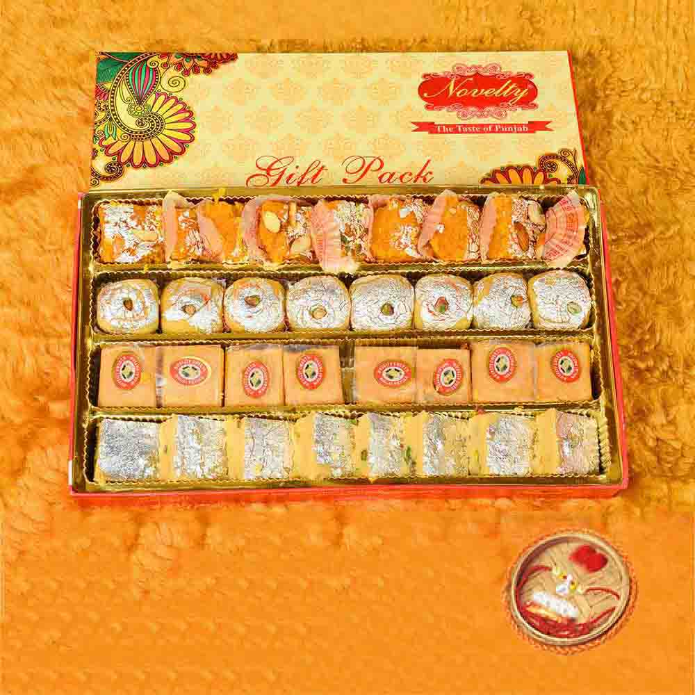 Special Gift Pack With Rakhi