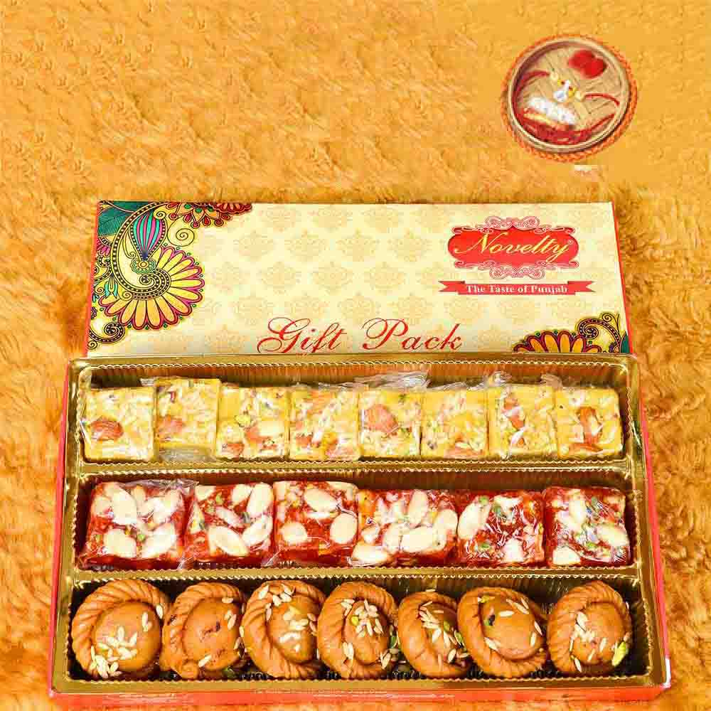 3in1 Gift Pack With Rakhi