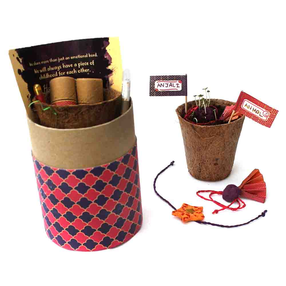 Plantable Rakhi for Kids - Luxury Edition