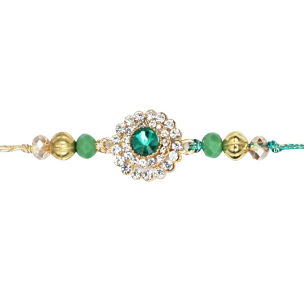 Royal Rakhi Collection-Diamond Single Rakhi