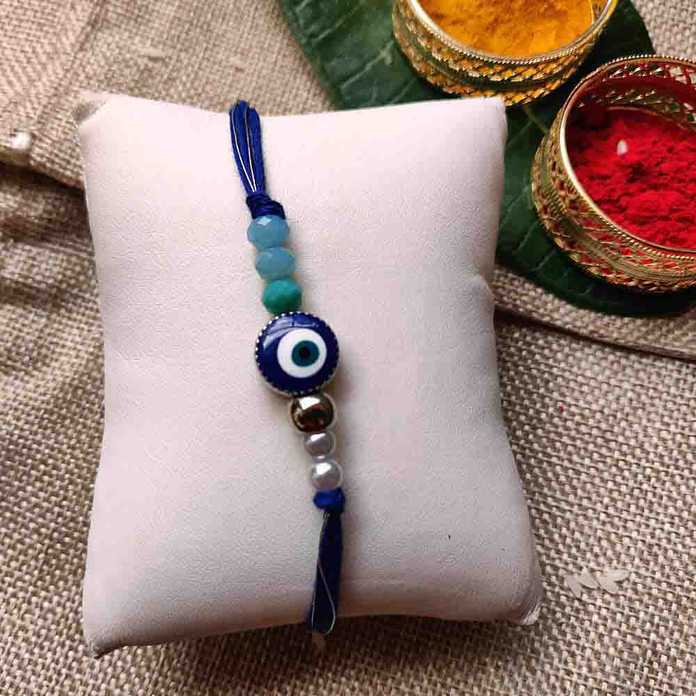 Blue Stone Rakhi Single