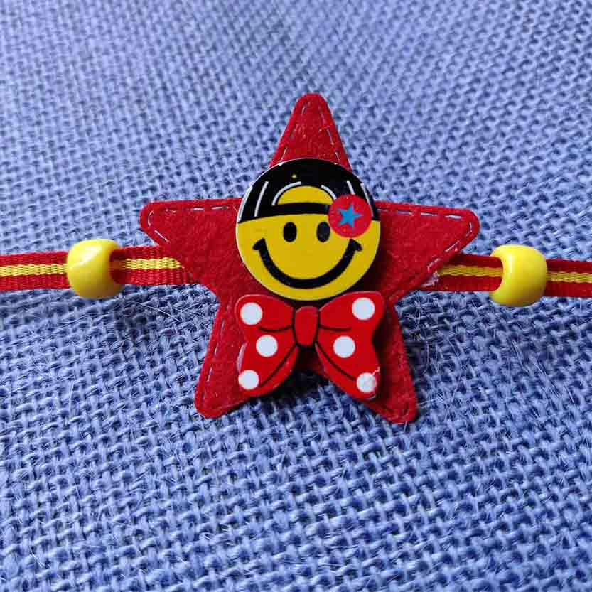 Royal Rakhi Collection-Smiley Rakhi