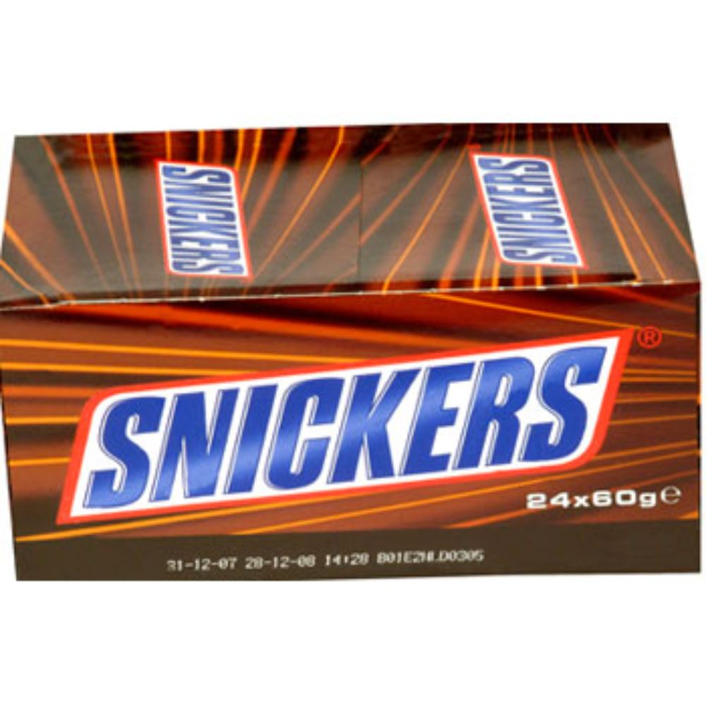 Imported Brands-Snickers Box of 15 pcs