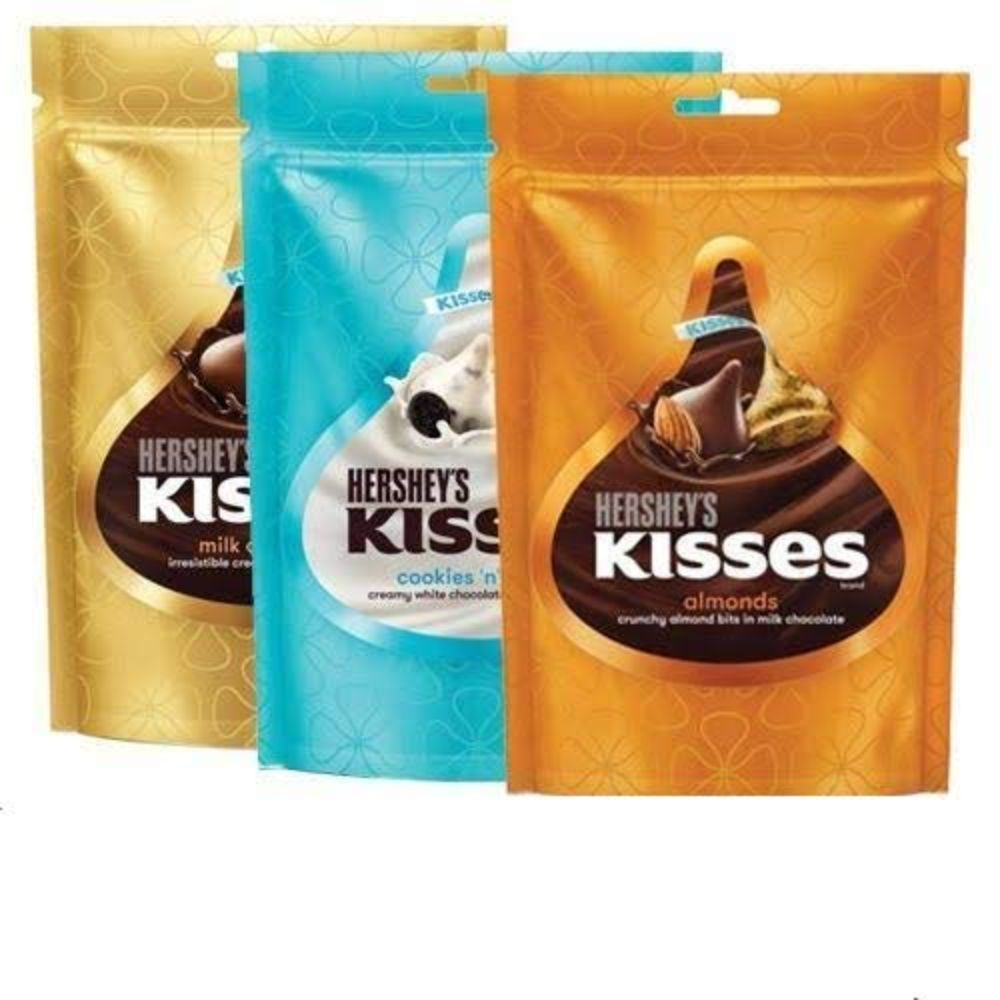 Imported Brands-Hershey's Kisses Assorted Value Pack 3 X 100G (Milk / Cookies n Creme / Almond)