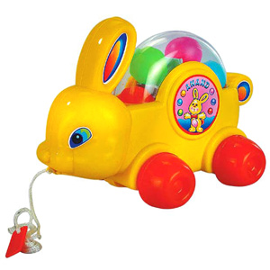 Pull Along Toys-Anand Bunny