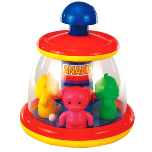 Games & Playsets-Anand Teddy Go Round