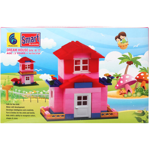 Educational-Peacock Smart Blocks - Dream House