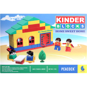 Educational-Peacock Kinder Blocks - Home Sweet Home