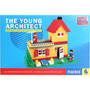 Educational-Peacock Smart Blocks - The Young Architect