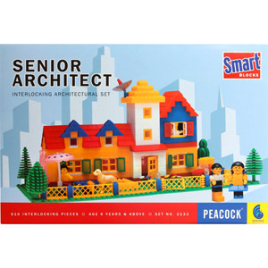 Educational-Peacock Smart Blocks - Senior Architect