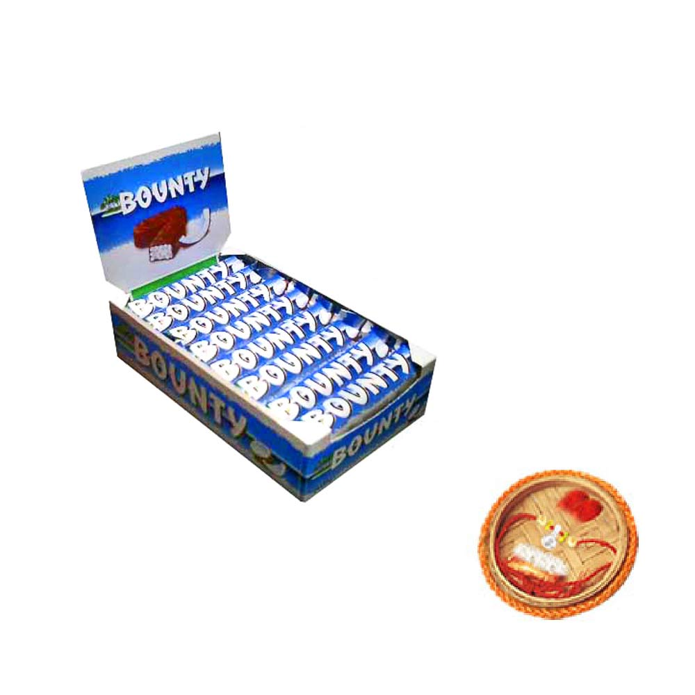 Bounty Chocolates - 24 pieces Box With Free Rakhi