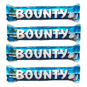 Imported Brands-Bounty Chocolates - 4 pieces