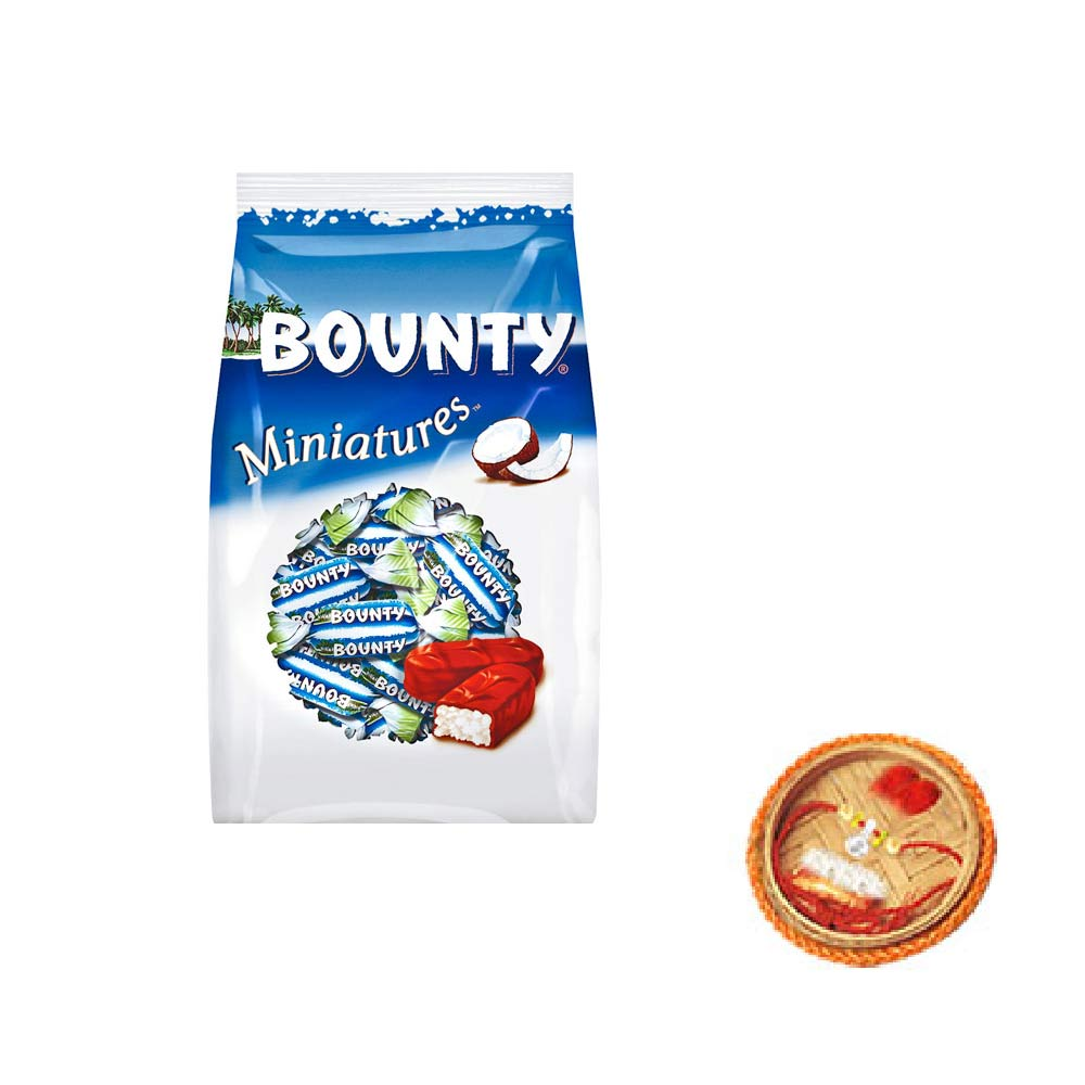 Bounty Miniatures With Free Rakhi